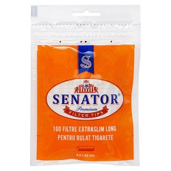 Filtre Tigari Senator Extra Slim Long 5,3/22 mm (100)